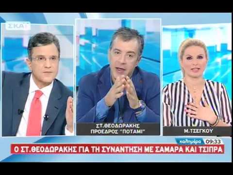 Ο Σταύρος Θεοδωράκης στο ΣΚΑΪ - 05/10/2014