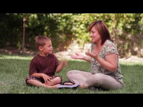 Through Your Child's Eyes: American Sign Language [Subtitled]