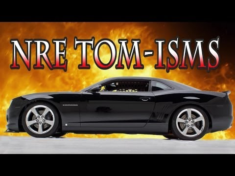 Tom-isms of Tom Nelson.  LOL!  Nelson Racing Engines.  NRE TV Episode 214.