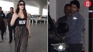 Kriti Flies To Delhi To Spend Time With Family | Varun Dhawan Snapped Post His Gym Session - ZOOMDEKHO