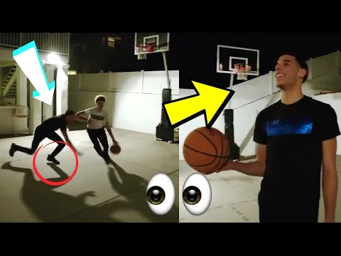 Lamelo Ball BREAKS LONZO BALL ANKLES! :: Ball Brothers Funny Moments 2017!