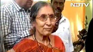तीसरे चरण का मतदान : जशोदा बेन ने डाला वोट - NDTVINDIA
