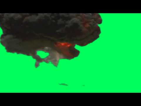 large explosion - free green screen effects