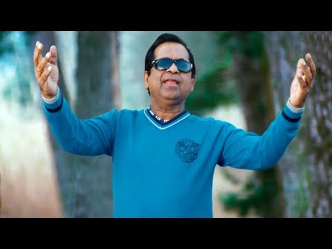 Brahmanandam Comedy Spoof As Gajini In Nuvva Nena