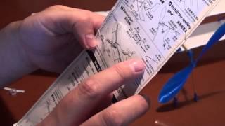 Резиномоторный самолет за 4 доллара