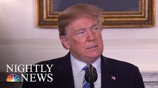 President Donald Trump Responds To Florida School Shooting | NBC Nightly News - NBCNEWS