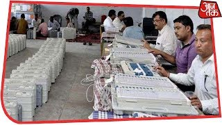 Counting Underway In All The Five States; First Results In A Few Minutes - AAJTAKTV