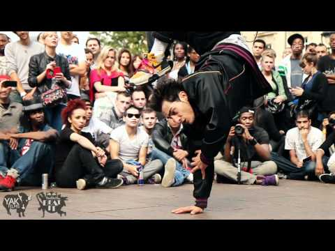 "Red Bull ""Beat It"" Dance Battle in Paris, France 