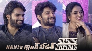 Gang Leader Movie Team Funny Interview | Nani | Priyanka Arul Mohan | Karthikeya - TFPC