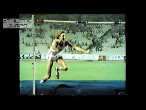 Athens 1982 Athletics European Championship High Jump Biomechanics