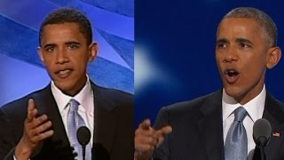 Two speeches: 12 years apart but similar in tone - CNN