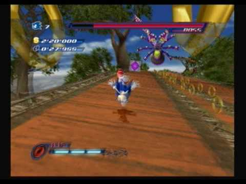 Sonic Unleashed (PS2) - Egg Beetle Boss
