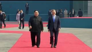 KIM JONG UN AND MOON JAE-IN MEET FOR INTER-KOREAN SUMMIT - VOAVIDEO