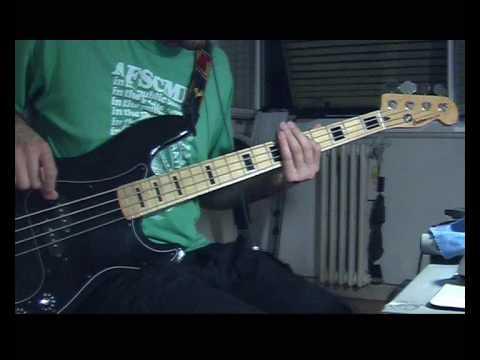 Apache - The Shadows bass cover