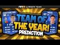 FIFA 15 TEAM OF THE YEAR! (MY PREDICTION) w/ TOTY RONALDO! | FIFA 15 Ultimate Team