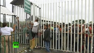 US-bound migrants stranded at Guatemala-Mexico border - RUSSIATODAY