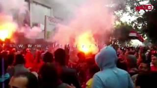 مسيرة لـلإخوان بالشماريخ في منطقة عين شمس