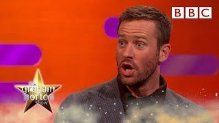 Why Armie Hammer made his wife CRY at Christmas 😲 - BBC - BBC
