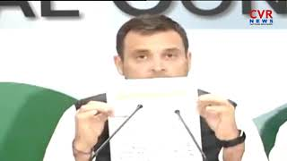 Rahul Gandhi condoles death of CRPF jawans in JK attack | CVR News - CVRNEWSOFFICIAL