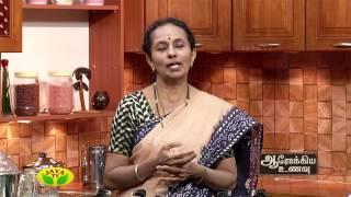 Aarokiya Unavu 25-04-2017 – Jaya TV cookery Show Arokiya Unavu