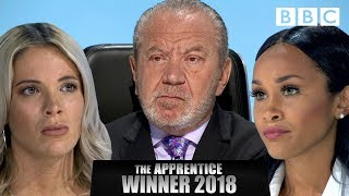Argument erupts in the boardroom as Lord Sugar announces winner | The Apprentice Final 2018 - BBC - BBC