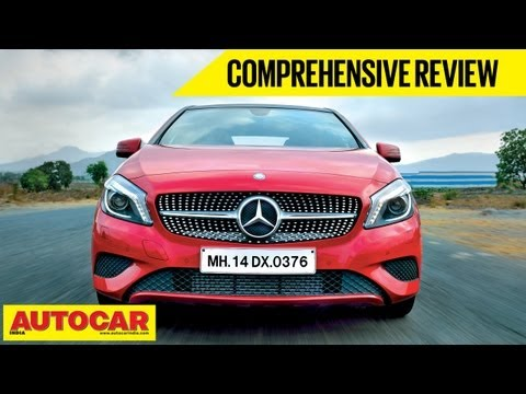 Mercedes A-Class India video review by Autocar India