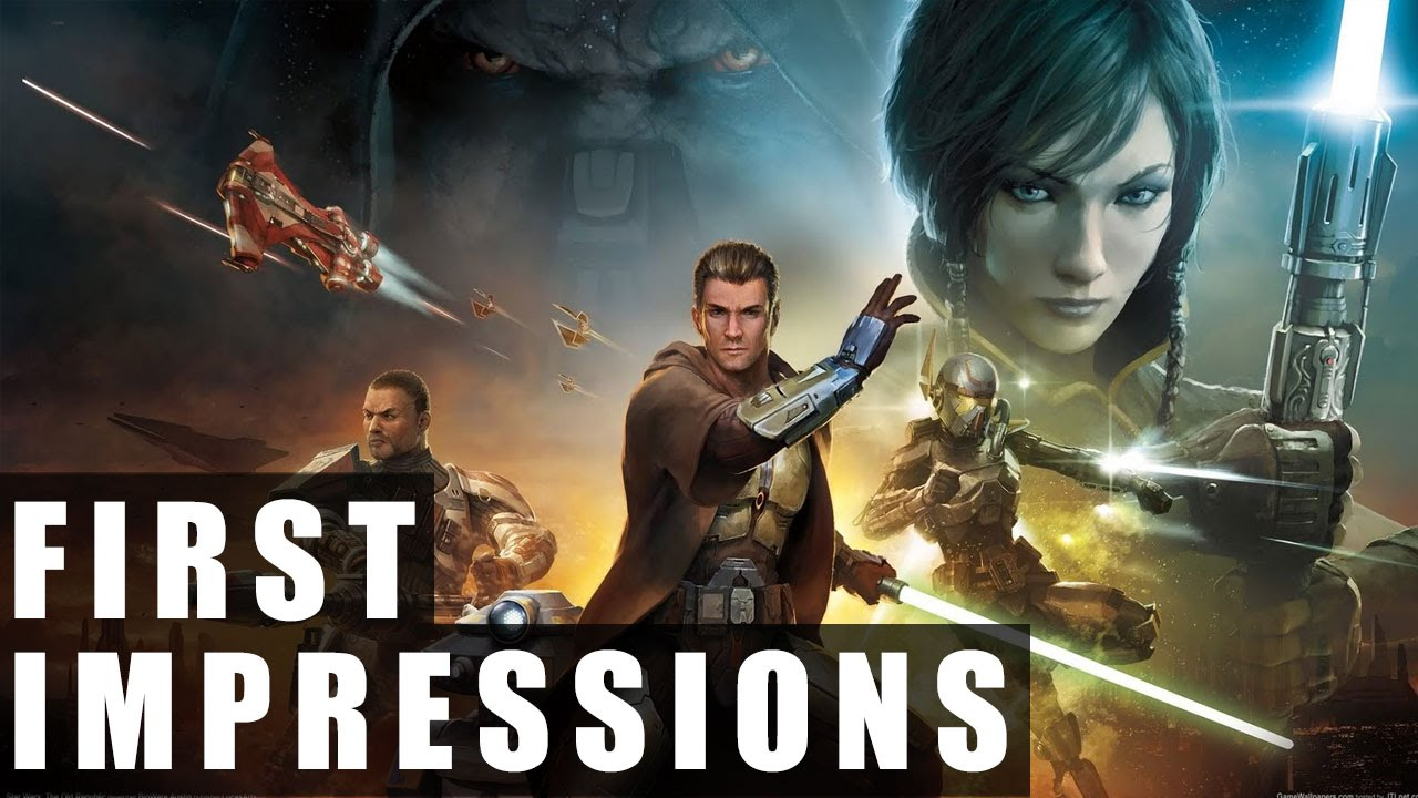 Star Wars: The Old Republic Gameplay - First Impressions HD