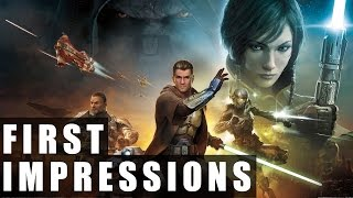 Star Wars: The Old Republic Gameplay | First Impressions HD