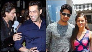 SRK & Salman Rock Bigg Boss | Alia & Sidharth Avoid Media Again!
