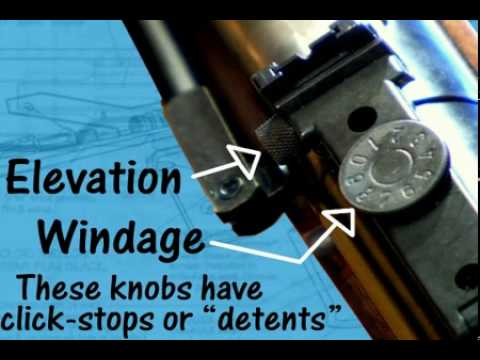 How to adjust rifle sights - Airgun Academy Episode 8