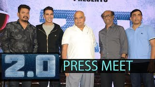 2.0 Press Meet In Hyderabad || Rajinikanth || Shankar || Akshay Kumar || #2Point0 - IGTELUGU