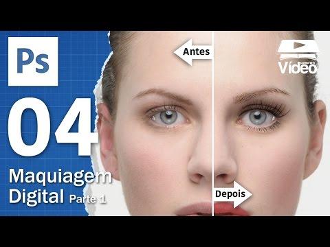 Maquiagem Digital com Photoshop - Parte 1 - Curso de Photoshop #04 - Gustavo Guanabara
