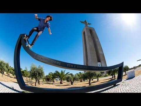 Skateboarder João Allen Lets Loose in the Streets of Lisbon