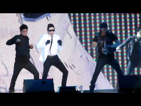 [fancam] se7en @ Singapore E-awards 2011