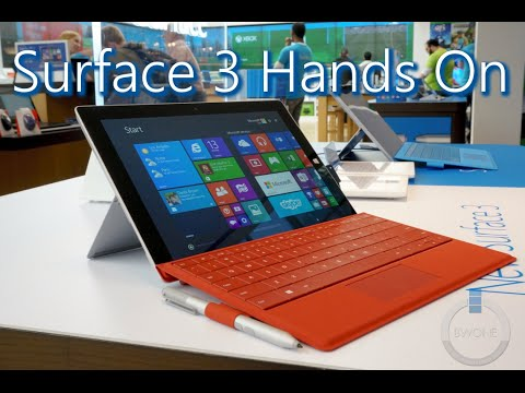 Microsoft Surface 3: All The Info You Need To Know