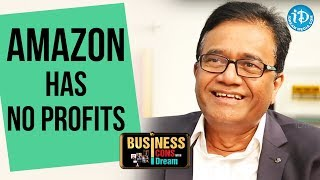 Amazon Has No Profits - PV Rao || Business Icons With iDream - IDREAMMOVIES