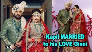 Kapil Sharma MARRIED to his LOVE Ginni Chatrath - IANSLIVE