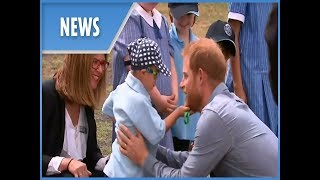 Prince Harry and pregnant Meghan Markle: Day two of Australian tour - greet children in Dubbo - THESUNNEWSPAPER