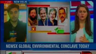 NewsX in association with Sunday Guardian brings the Global Environment Conclave today - NEWSXLIVE