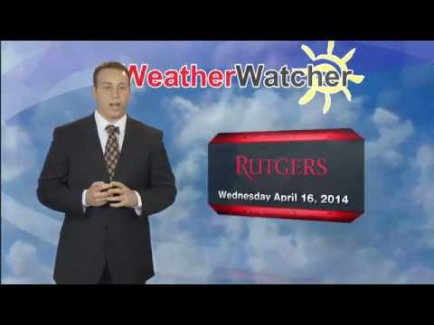 Wednesday, April 16th 2014 afternoon forecast