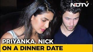 Watch! Priyanka Chopra & Nick Jonas Out On A Dinner Date - NDTV