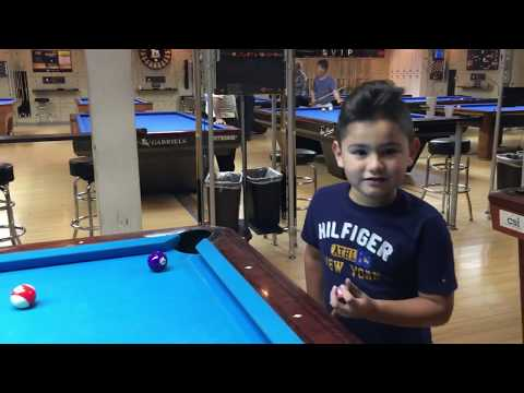 Gilberto The 6 year old pool and billiards phenom!!