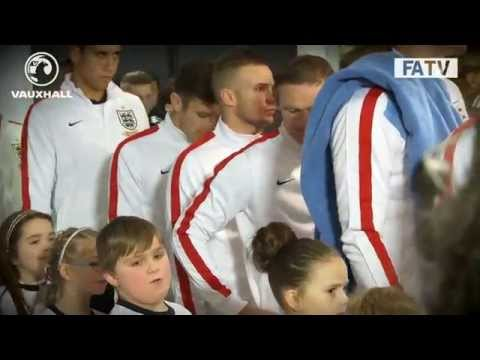 TUNNELCAM: England vs Germany 0-1 at Wembley