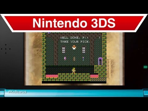 Nintendo 3DS - 3D Classics: Kid Icarus How to Play Video