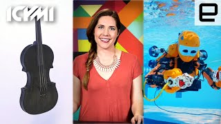 ICYMI: 3D-printed instrument, Humanoid diver and more - ENGADGET