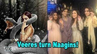Kareena with the Veeres turn Naagins! - IANSINDIA