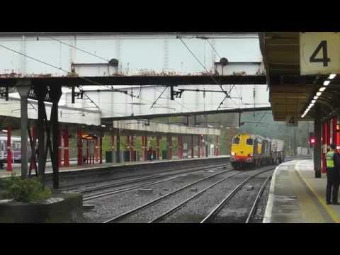 20304/37409 6k73 Sellafield - Crewe flasks, 23rd April 2014, TOP THRASH !!