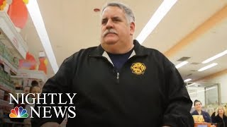 Boston Firefighters Help Families In Need Celebrate Thanksgiving | NBC Nightly News - NBCNEWS