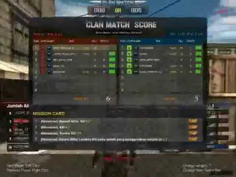 Point Blank - KZSR_Medousa_ID - Clan War *{ANONYMOUS}*