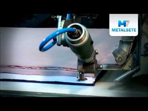 Máquina de Enfestar Tecido - Tecido Aberto - Metalsete